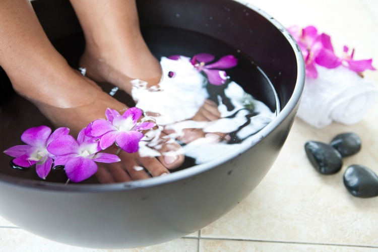 diy pedicure