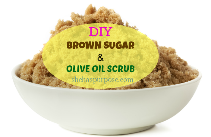 brown sugar olive oil scrub
