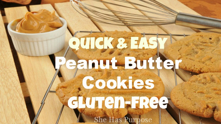 peanut butter cookies gluten-free