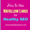 How to Use Nofollow Links for Healthy SEO